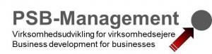 PSB-Management logo rød-grå